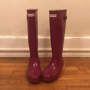 Hunter Original Tall Rainboots size 7